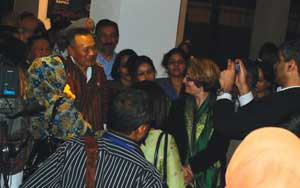 PM Thinley interacts with SAFMA journalists in Paro