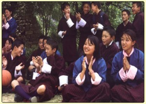 Most bhutanese are forced to leave country for education