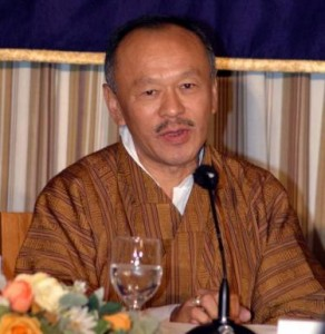 Ptime Minister Thinley