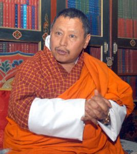 RECLAIMING SAME TITLE: new Chief Justice SOnam Tobgye