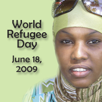 A Lutheran Social Services' Poster on World Refugee Day